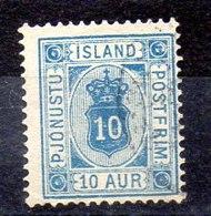 Sello De Islandia Servicio N ºYvert 6A (o)  Valor Catálogo 13.5€ - Oficiales