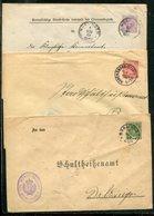 Wuerttemberg / 3 Dienst-Ganzsachenumschlaege O (19295-20) - Wuerttemberg