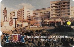 Turkey - TT - Alcatel - Military Medical Academy - N-0018, Outside, 30U, 1998, 10.000ex, Used - Turkey