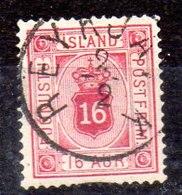 Sello De Islandia Servicio N ºYvert 7A (o)  Valor Catálogo 45.0€ - Oficiales