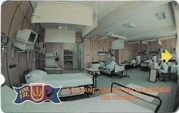 Turkey - TT - Alcatel - Military Medical Academy - N-0019, Intensive Care Room, 30U, 1998, 10.000ex, Used - Turkey