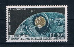 St Pierre Und Miquelon 1962 Raumfahrt Mi.Nr. 397 ** - Ungebraucht