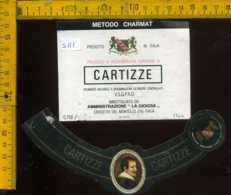 Etichetta Vino Liquore Prosecco Di Valdobbiadene Cartizze-Crocetta Del Montello TV - Etichette