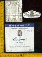 Etichetta Vino Liquore Cabernet S. 1982 Breganze VI - Etichette