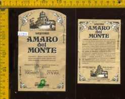Etichetta Vino Liquore Amaro Del Monte Soave & C - Trofarello TO - Etichette