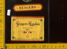 Etichetta Vino Liquore Seagers London Dry Gin - Costigliole D'Asti - Etichette