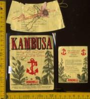 Etichetta Vino Liquore Kambusa Bonomelli  - Dolzago LC - Etichette
