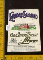 Etichetta Vino Liquore Galliano Ditta A. Vaccari Di Livorno - Etichette