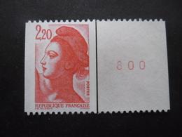 FRANCE Liberté De Gandon N°2379b N°rouge Au Verso Neuf ** - 1982-90 Liberté (Gandon)