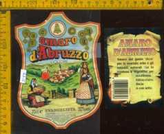 Etichetta Vino Liquore Amaro D'Abruzzo - S. Giovanni Teatino CH - Etichette