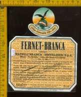 Etichetta Vino Liquore Fernet Branca Distillerie Fratelli Branca MI - Etichette