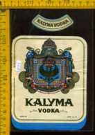 Etichetta Vino Liquore Kalyma Vodka - Fulie SRL MI - Etichette