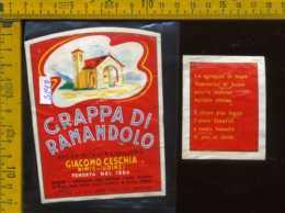 Etichetta Vino Liquore Grappa Di Ramandolo G. Ceschia - Nimis UD - Etichette
