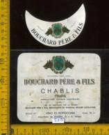 Etichetta Vino Liquore Chablis 1968 Bouchard Père & Fils - Francia - Etichette