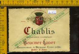 Etichetta Vino Liquore Chablis Bouchot-Ludot - Francia - Etichette
