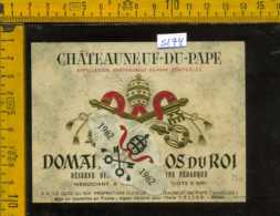 Etichetta Vino Liquore Domaine Du Clos Du Roi 1962 - Francia - Etichette