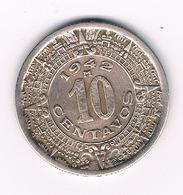 10 CENTAVOS  1942 MEXICO /5429/ - Mexique