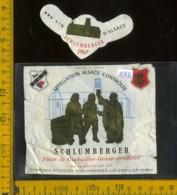 Etichetta Vino Liquore Vin D'Alsace Schlumberger 1967 - Francia (difetto) - Etichette