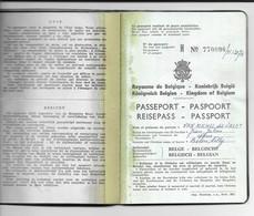 Passeport Belge (1968) - Old Paper