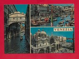 CARTOLINA VG ITALIA - VENEZIA - Vedutine Multivue - 10 X 15 - ANN. 1968 - Venezia (Venice)