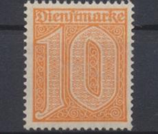 Deutsches Reich, MiNr. 65, Dienstmarken, Postfrisch / MNH - Service