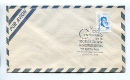 ARGENTINA - CENTENARIO DE LA SOCIEDAD ITALIANA DE SOCORROS MUTUOS, 1975 SOBRE POR AVION ENVELOPE PAR AVION SPC - LILHU - Otros