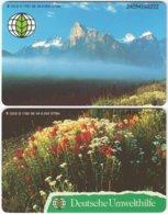 GERMANY O-Serie B-067 - Landscape, Mountains, Plant, Flower - 2 Pieces - MINT - Deutschland
