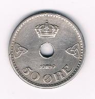 50 ORE  1940  NOORWEGEN /5437/ - Norvège