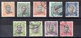 Sellos De Islandia Servicio N ºYvert 33/39A (o)  Valor Catálogo 15.5€ - Oficiales