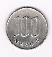 100 YEN 1973 JAPAN /5440/ - Japon