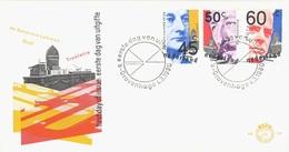 NETHERLANDS. FDC POLITICIANS. 1980 - Marcofilia