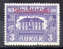 Sello De Islandia Servicio N ºYvert 44 (o)  Valor Catálogo 25.0€ - Oficiales