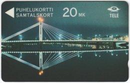 FINLAND A-644 Magnetic HPY - Traffic, Bridge - 10FINA - Used - Finland
