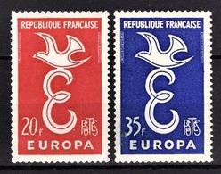 FRANCE 1958 -  SERIE Y.T. N° 1173 Et 1174  - 2 TP NEUFS** - France