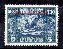 Sello De Islandia Servicio N ºYvert 45 (o)  Valor Catálogo 25.0€ - Dienstpost