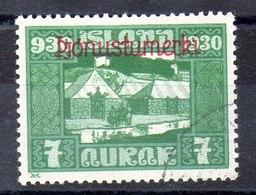 Sello De Suecia Servicio N ºYvert 46 (o)  Valor Catálogo 25.0€ - Oficiales