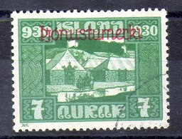 Sello De Islandia Servicio N ºYvert 46 (o)  Valor Catálogo 25.0€ - Oficiales