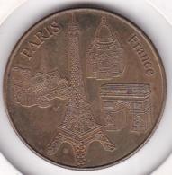 Médaille De Collection Paris France. 4 Monuments. - Touristiques