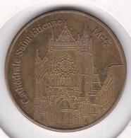 Médaille De Collection France. Cathédrale Saint Etienne Metz. - Touristiques