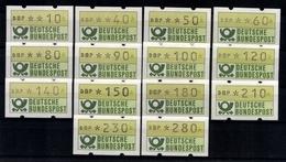 Deutschland Automaten, Michel Nr. 1, 1. Tastensatz O. Zn, Postfrisch - Automatenmarken