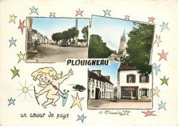 Carte Semie Moderne Grand Format De PLOUIGNEAU - France