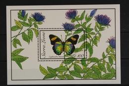 Sierra Leone, Schmetterlinge, MiNr. Block 110, Postfrisch / MNH - Sierra Leone (1961-...)