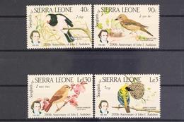 Sierra Leone, MiNr. 799-802, Postfrisch / MNH - Sierra Leone (1961-...)