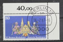 Deutschland (BRD), MiNr. 1329, Ecke Rechts Oben, EST - BRD