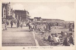 Wimereux (62) - La Plage Et La Digue - France