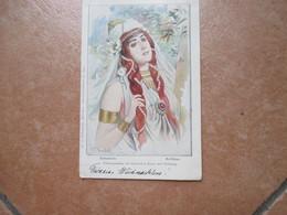 1902 SAkuntala Kalidasa Frauengestalten Klassichen Kunst Und  Dichtung - Pubblicitari