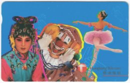 HONGKONG A-312 Magnetic Telecom - People, Dancer - Used - Hong Kong