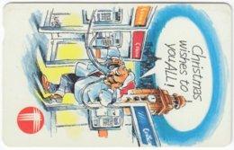 HONGKONG A-321 Magnetic Telecom - Cartoon - Used - Hong Kong