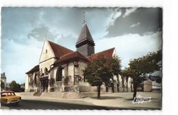 10 Sainte Savine Eglise Sainte Savine Vieille Voiture Auto CPSM PF Edit Estel N°10927 Photo - France