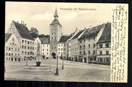 Landsberg Am Lech, Hauptplatz Mit Marienbrunnen - Non Classificati
